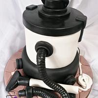 Cake vacuum cleaner