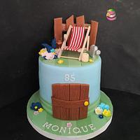 Garden Cake  by Ruth - Gatoandcake