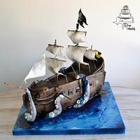 Privateer cake