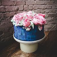 flower cake by Gateaux DéMila