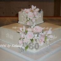 25th anniversary  - Cake by kakeladi