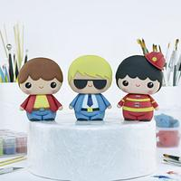 Cute Boy Cake Toppers