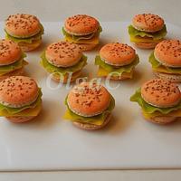 Macarons or burger?