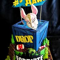 Fortnite game cake