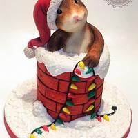 Barney the Christmas Mouse - Merry Christmas Collab