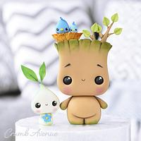 Groot & Little Sprout