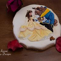 Beauty and the Beast Cookie Art Course 🌹🖌️🎨