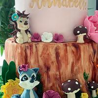 Woodland Cake  by Dina's Tortenwelt