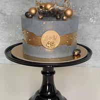 Fault line cake by Silvia Gundová