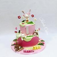 Farm cake Birthday