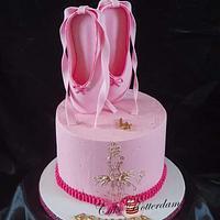 Ballet theme cake