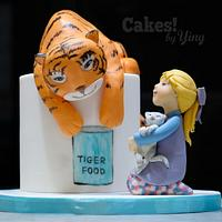 The Tiger Who Came to Tea - Children's Classic Books Dreamland Challenge