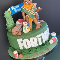Fortnite cake by Penny Sue