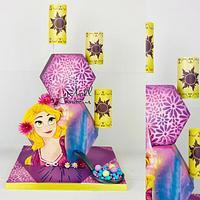 Raiponce cake lover