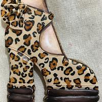 Zapatilla animal print