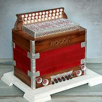 Accordion cake (Heligonka)