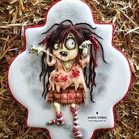 Spooky Zombie girl....