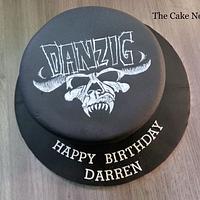 🤘 Danzig Cake.🤘