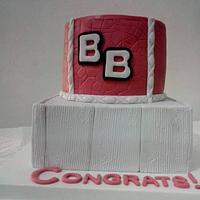 Retirement cake by Tasha