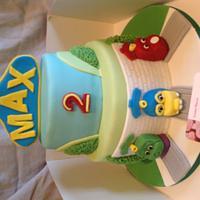 Chuggington cake  by Louise Hayes