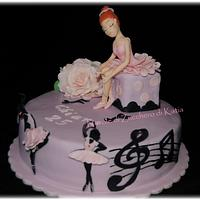 Ballet Cake by NuvolediZuccherodiKatia