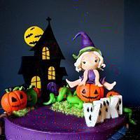 Witchy Halloween  by Radoslava Kirilova (Radiki's Cakes)