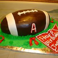 Alabama Football Cake