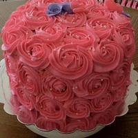12th anniversary cake by taralynn