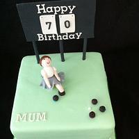 Bowling Green Cake by sasha