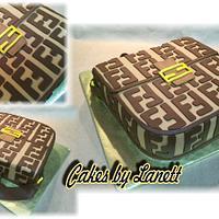 Fendi Purse Cake by lanett