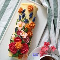 Buttercream Swiss Roll