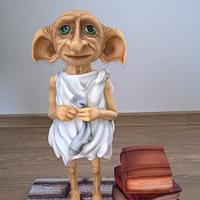 Dobby is free - 3D cake