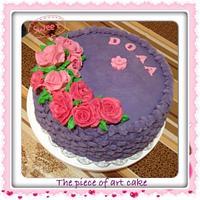 Basket wave cake