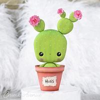 Cute Cactus by Crumb Avenue