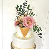 My daughter's wedding cake by Goreti