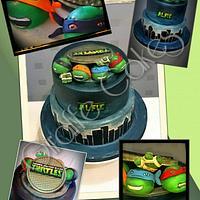My take on a TMNT cake!