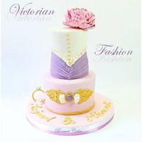 Victorian Fashion Cake