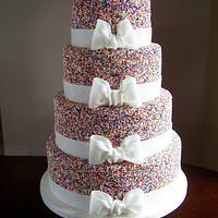 Rainbow Sprinkles Wedding
