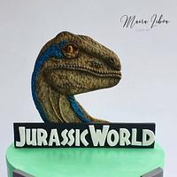 Jurassic world by Maira Liboa
