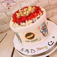 ''Koshari'' an Egyptian food cake
