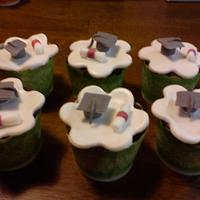 Brownie cupcakes for teachers day