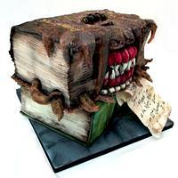 Harry Potter Monster Book of Monsters Cake