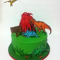Dinosaur Cake!