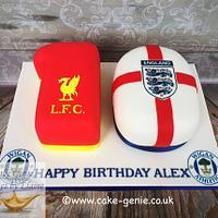 Football 10 Cake
