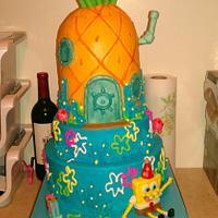 Spongebob Cake!!