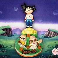Dragon ball for Sugar Artist League Collaboration  by Lovely Cakes di Daluiso Laura