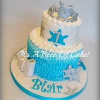 Snow Princess Cake