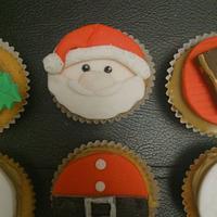 Christmas Cupcakes :) #1 by Sue