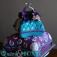 Pillow Engagement Cake