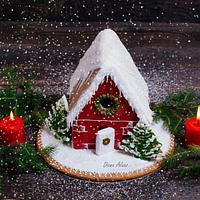 Gingerbread sweet house
